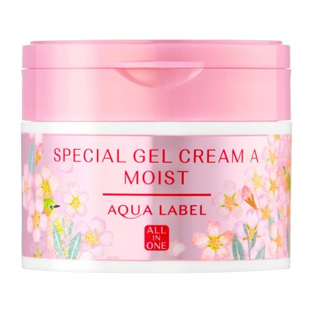 Shiseido AQUA LABEL Special Gel Cream Moist All In One Sakura Limited Edision
