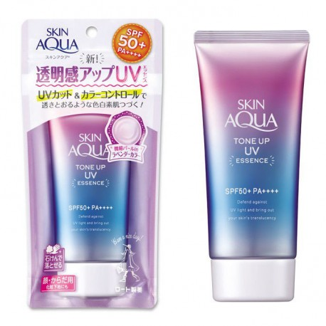 Rohto Skin Aqua Tone Up UV Essence SPF50+ PA++++