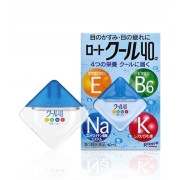Krople do oczu z witaminami Rohto COOL Vitamin 40a Eye Drops
