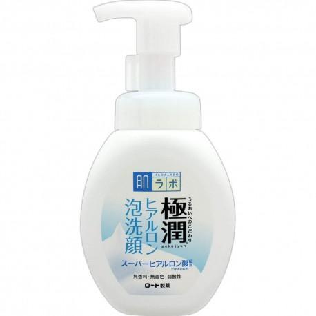 Hada Labo Gokujyun Hyaluronic Bubble Face Wash