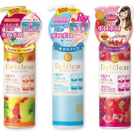 DET Clear Bright & Peel Fruit Peeling Jelly