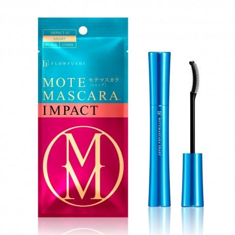 FLOWFUSHI Mote Mascara Volume  Impact 02 Sharp Black