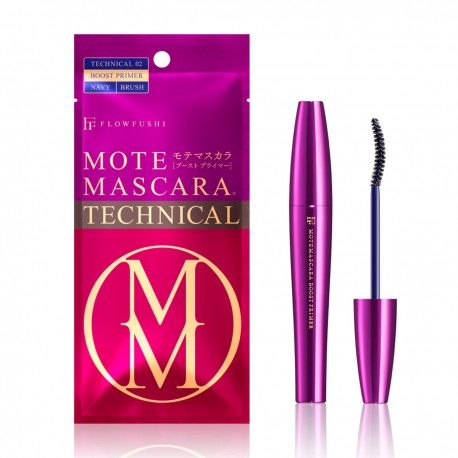 FLOWFUSHI Mote Mascara Technical 02 Boost Primer Navy