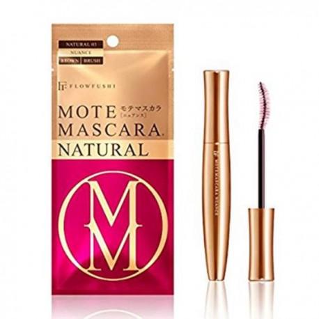 FLOWFUSHI Mote Mascara Natural 03 Nuance Brown