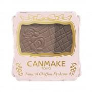 Cienie do brwi CANMAKE Natural Chiffon Eyebrow