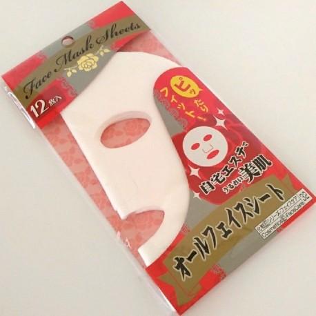Bawełniane płachty do maseczki na twarz